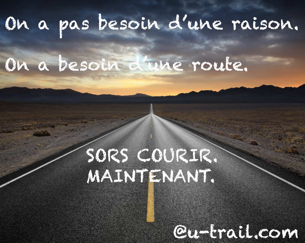 courir motivation