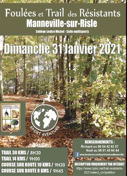 trail normandie janvier 2021